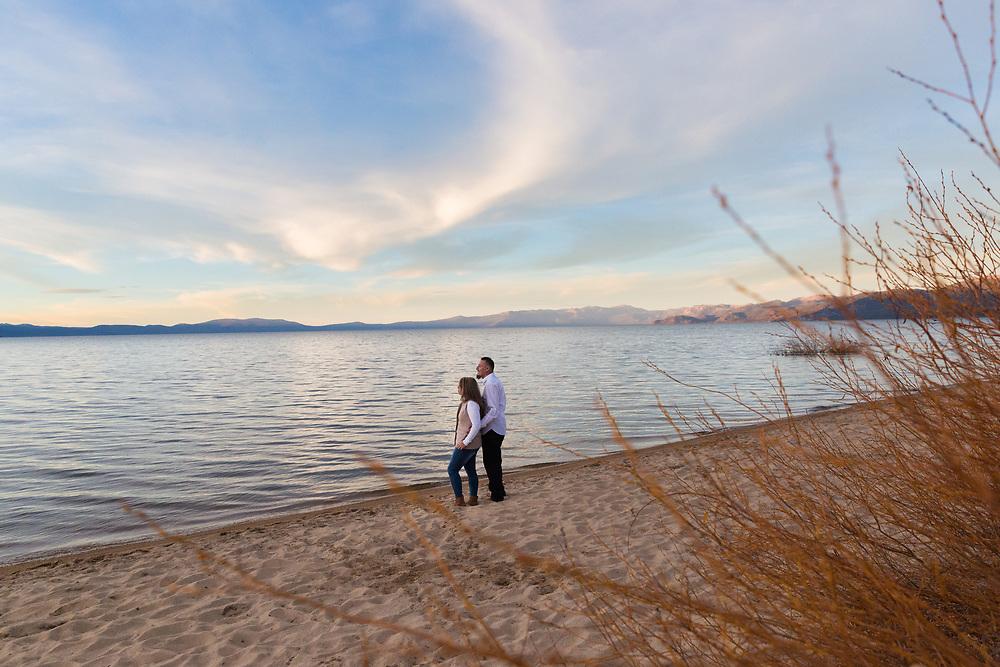 South Lake Tahoe, California Anniversary Sunset Session