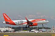 G-UZHF easyJet Airbus A320-251N at Malpensa (MXP / LIMC), Milan, Italy