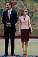 100914 Spanish Royals attend Annual Meeting of the Board of the Instituto Cervantes