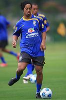 20090325: TERESOPOLIS, BRAZIL – Brazil National Team preparing match against Equador, at Teresopolis training center. In picture: Ronaldinho Gaucho. PHOTO: CITYFILES