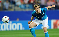 Fotball<br /> Spania<br /> 18.09.2013<br /> Foto: Cordon Press/Digitalsport<br /> NORWAY ONLY<br /> <br /> UEFA Champions League<br /> FK Zenit St. Petersburg Defender, number 6 Nicolas Lombaerts - Nicolas Lombaerts (27) during round 1 of the Champions league, soccer match between Atletico de Madrid - FK Zenit St. Petersburg at the Vicente Calderon