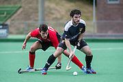 Southgate v Holcombe - Pre-season, Southgate Hockey Centre, Trent Park, London, UK on 04 September 2016. Photo: Simon Parker