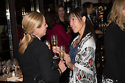 MICHELLE PRETORIUS; TIGER LI QUAN, Dinner in aid of the China Tiger Revival hosted by Sir David Tang and Stephen Fry  at China Tang, Park Lane, London. 1 October 2013. ,
