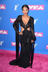 Moniece Slaughter arriving at the MTV Video Music Awards 2018, Radio City, New York. Photo credit should read: Doug Peters/EMPICS