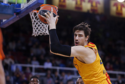 January 19, 2017 - Barcelona, Catalonia, Spain - Ante Tomic during the match between FC Barcelona and Anadolu Efes, corresponding to the week 17 of the Euroleague, on 19 January  2017. (Credit Image: © Joanvalls/NurPhoto via ZUMA Press)