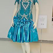 NLD/Amsterdam/20100512 - Opening expositie songfestivaljurken getiteld 'May we have your dress please?! , jurk van Caren Maywood