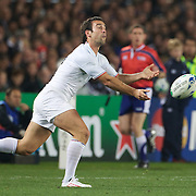 Dimitri Yachvili, France, in action during the New Zealand V France, Pool A match during the IRB Rugby World Cup tournament. Eden Park, Auckland, New Zealand, 24th September 2011. Photo Tim Clayton...