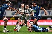 Aaron Smith.<br /> Blues v Highlanders, Sky Super Rugby Trans-Tasman Final. Eden Park, Auckland. New Zealand. Saturday 19 June 2021. © Copyright Photo: Andrew Cornaga / www.photosport.nz