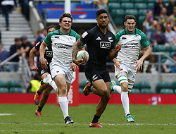 May 26, 2019 - Twickenham, England, United Kingdom - Regan Ware ofNew Zealand .during The HSBC World Rugby Sevens Series 2019 London 7s 5th Place Play-Off Match 43 between New Zealand and Ireland at Twickenham on 26 May 2019. (Credit Image: © Action Foto Sport/NurPhoto via ZUMA Press)