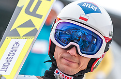 10.03.2018, Holmenkollen, Oslo, NOR, FIS Weltcup Ski Sprung, Raw Air, Oslo, Teamspringen, im Bild Kamil Stoch (POL) // Kamil Stoch of Poland during Team Competition of the 1st Stage of the Raw Air Series of FIS Ski Jumping World Cup at the Holmenkollen in Oslo, Norway on 2018/03/10. EXPA Pictures © 2018, PhotoCredit: EXPA/ JFK