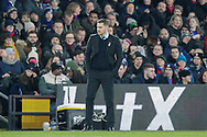 Grimsby Town manager Michael Jolley during The FA Cup 3rd round match between Crystal Palace and Grimsby Town FC at Selhurst Park, London, England on 5 January 2019.