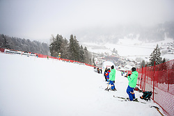 Venue during 1st run of Men's Slalom race of FIS Alpine Ski World Cup 57th Vitranc Cup 2018, on March 4, 2018 in Podkoren, Kranjska Gora, Slovenia. Photo by Ziga Zupan / Sportida