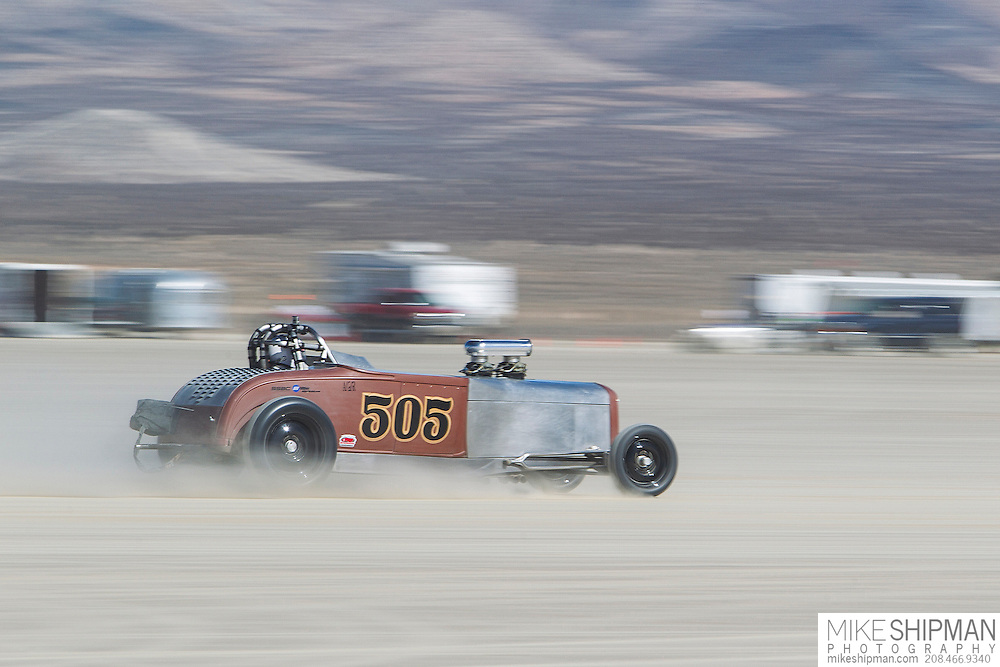 Deeds Meyer Kilger, 505, eng A, body GR, driver Mike Kilger, 194.268 mph, record 220.777
