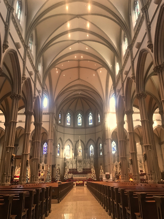 St. Paul's Cathedral, interior, Oakland, Pittsburgh