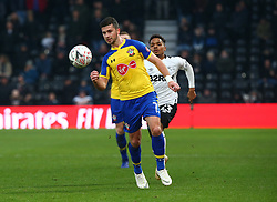 January 5, 2019 - Derby, England, United Kingdom - Derby, England - 05 January, 2019.Southampton's Shane Long.during FA Cup 3rd Round between Derby County  and Southampton at Pride Park stadium , Derby, England on 05 Jan 2019. (Credit Image: © Action Foto Sport/NurPhoto via ZUMA Press)