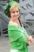 Prinsjesdag 2014 - Aankomst Politici op het Binnenhof.<br /> <br /> Op de foto:   Fractievoorzitter Marianne Thieme van de Partij voor de Dieren