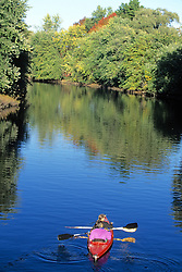 Kayaking On The Concord River
