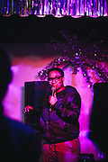Shrista Tyree at the Chill Out, December 2017 at the Eagles Lodge in Portland, OR. Photo by Jason Quigley
