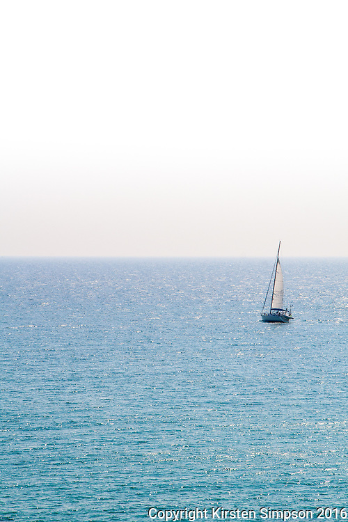 Looking out to the Adriatic Sea from Otranto