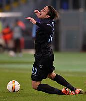 Alessandro Matri Lazio.<br /> Roma 26-11-2015 Stadio Olimpico, Football Calcio 2015/2016 Europa League. Lazio - Dnipro. Foto Antonietta Baldassarre / Insidefoto