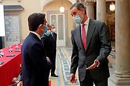 111720 King Felipe VI attends a CECOTEC meeting