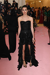 Charlotte Casiraghi attends The 2019 Met Gala Celebrating Camp: Notes on Fashion at Metropolitan Museum of Art on May 06, 2019 in New York City.<br /> Photo by ABACAPRESS.COM