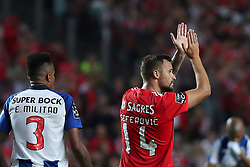 October 7, 2018 - Lisbon, Portugal - Benfica's Suisse forward Haris Seferovic reacts during the Portuguese League football match SL Benfica vs FC Porto at the Luz stadium in Lisbon on October 7, 2018. (Credit Image: © Pedro Fiuza/NurPhoto/ZUMA Press)