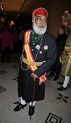 HH SHRIJI ARVIND SINGH MEWAR OF UDAIPUR at a dinner to celebrate the opening of 'Maharaja - The Spendour of India's Royal Courts' an exhbition at the V&A, London on 6th October 2009.