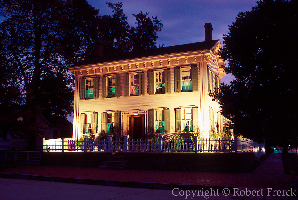 ILLINOIS, SPRINGFIELD President Abraham Lincoln's home and museum