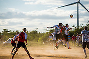 Local Football Game in Brazil