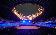 during the Opening Ceremony of the Tokyo 2020 Olympic Games. Tuesday 27th July 2021. Mandatory credit: © John Cowpland / www.photosport.nz