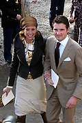 Hare Koninklijke Hoogheid Prinses Alexia, de jongste dochter van Zijne Koninklijke Hoogheid de Prins van Oranje en Hare Koninklijke Hoogheid Prinses Máxima, is zaterdag 19 november 2005 gedoopt in de Dorpskerk in Wassenaar. <br /> <br /> Baptism of Princess Alexia, the youngest daughter of Prince Willem-Alexander and Princess Máxima. Princess Alexia (born June 26, 2005) has been baptized in the church in Wassenaar. The ceremony was attended by The Dutch Royal Family and the parents of Princess Máxima.  <br /> <br /> Op de foto / On the photo:<br /> <br /> Zijne Hoogheid Prins Maurits van Oranje-Nassau, van Vollenhoven, Hare Hoogheid Prinses Marilène van Oranje-Nassau, van Vollenhoven
