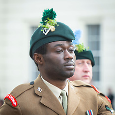 St.. Patrick's Day Parade Irish Guards 15th March 2020