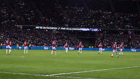Football - 2018 / 2019 Premier League - West Ham United vs. Brighton & Hove Albion<br /> <br /> Dejected West Ham players trudge back to the halfway line <br /> at the London Stadium<br /> <br /> COLORSPORT/DANIEL BEARHAM