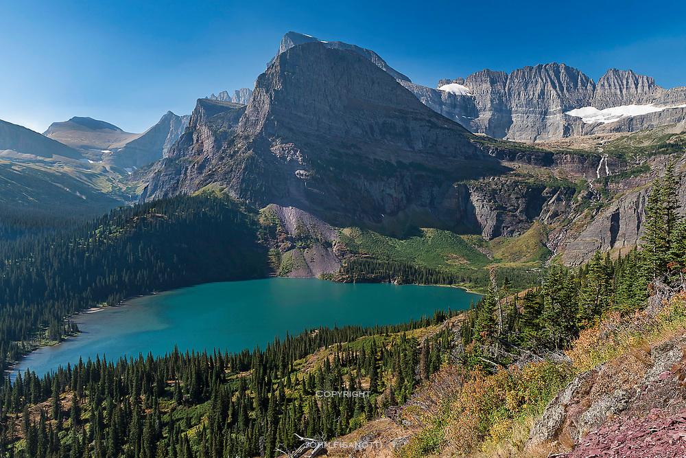 Classic Glacier National Park Scenery