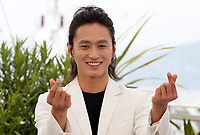 Actor Kim Sung-Kyu at The Gangster, The Cop, The Devil film photo call at the 72nd Cannes Film Festival, Thursday 23rd May 2019, Cannes, France. Photo credit: Doreen Kennedy