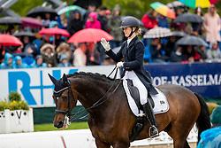 RAMEL Juliette (SWE), Buriel K.H.<br /> Hagen - Horses and Dreams 2019 <br /> Grand Prix de Dressage CDI4* Special Tour<br /> 27. April 2019<br /> © www.sportfotos-lafrentz.de/Stefan Lafrentz