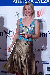 Brigita Langerholc at Best Slovenian athlete of the year ceremony, on November 15, 2008 in Hotel Lev, Ljubljana, Slovenia. (Photo by Vid Ponikvar / Sportida)