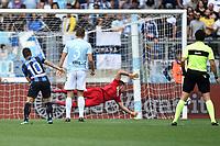 Palo Alejandro Gomez Atalanta . Gomez hits the post <br /> Roma 06-05-2018 Stadio Olimpico Football Calcio Serie A 2017/2018 Lazio - Atalanta Foto Andrea Staccioli / Insidefoto