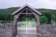 Memorial graveyard mass graves for the Irish Potato famine 1845-1850, Abbeystrewry Cemetery, Skibbereen, County Cork, Ireland