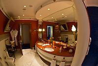 Bathroom, Two bedroom suite (Number 1109), Burj al Arab Hotel, Dubai, United Arab Emirates