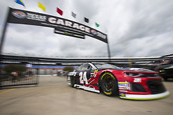 April 6, 2018 - Ft. Worth, Texas, United States of America - April 06, 2018 - Ft. Worth, Texas, USA: William Byron (24) comes in from practice for the O'Reilly Auto Parts 500 at Texas Motor Speedway in Ft. Worth, Texas. (Credit Image: © Stephen A. Arce Asp Inc/ASP via ZUMA Wire)