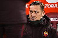 Francesco Totti Roma <br /> Roma 30-01-2016 Stadio Olimpico, Football Calcio Serie A 2015/2016 AS Roma - Frosinone. Foto Andrea Staccioli / Insidefoto