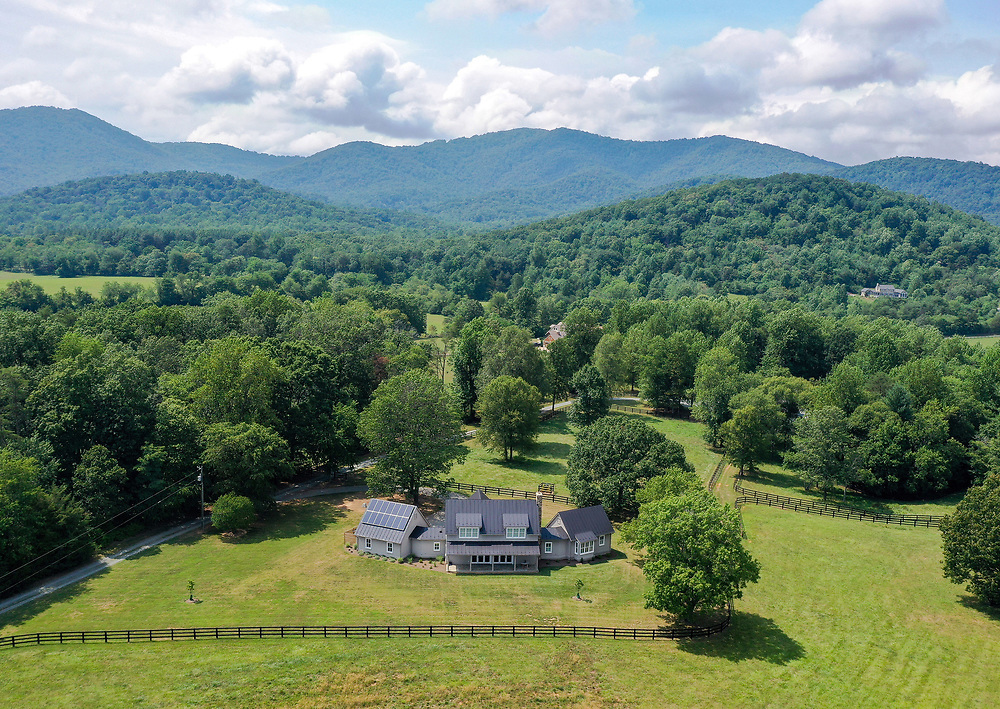 Home on Chapel Spring Lane for sale in Albemarle County. Photo/Andrew Shurtleff Photography, LLC