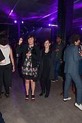 ALICE RAWTHORN; MAUREEN PALEY, The Tanks at Tate Modern, opening. Tate Modern, Bankside, London, 16 July 2012