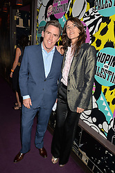 ROB BRYDON and BELLA FREUD at Hoping's Greatest Hits - the 10th Anniversary of The Hoping Foundation's charity benefit held at Ronnie Scott's, 47 Frith Street, Soho, London on 16th June 2016.