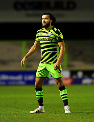 Dominic Bernard of Forest Green Rovers- Mandatory by-line: Nizaam Jones/JMP - 27/02/2021 - FOOTBALL - The innocent New Lawn Stadium - Nailsworth, England - Forest Green Rovers v Colchester United - Sky Bet League Two