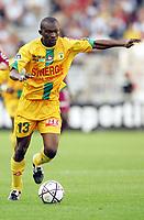 Fotball<br /> Foto: Dppi/Digitalsport<br /> NORWAY ONLY<br /> <br /> FRENCH CHAMPIONSHIP 2004/2005 - FC NANTES v FC METZ - 28/05/2005 - MAMADOU DIALLO (NAN)