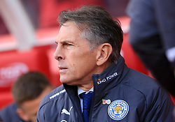 Leicester City manager Claude Puel - Mandatory by-line: Paul Roberts/JMP - 04/11/2017 - FOOTBALL - Bet365 Stadium - Stoke-on-Trent, England - Stoke City v Leicester City - Premier League