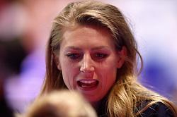 09-01-2016 TUR: European Olympic Qualification Tournament Rusland - Nederland, Ankara<br /> De Nederlandse volleybalsters hebben de finale van het olympisch kwalificatietoernooi tegen Rusland verloren. Oranje boog met 3-1 voor de Europees kampioen (25-21, 22-25, 25-19, 25-20) / Manon Nummerdor-Flier #12